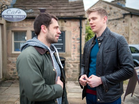 Emmerdale spoilers: Poor Aaron! Is Robert Sugden jealous of Andy and Chrissie?