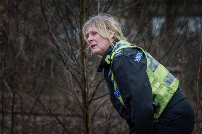 WARNING: Embargoed for publication until 00:00:01 on 08/03/2016 - Programme Name: Happy Valley series 2 - TX: n/a - Episode: n/a (No. 6) - Picture Shows: **EMBARGOED FOR PUBLICATION UNTIL 00:01 HRS ON TUESDAY 8TH MARCH** Catherine (SARAH LANCASHIRE) - (C) Red Productions - Photographer: Ben Blackall