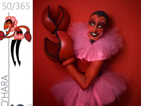 This drag queen just gave us so much 90's nostalgia with these amazing character looks
