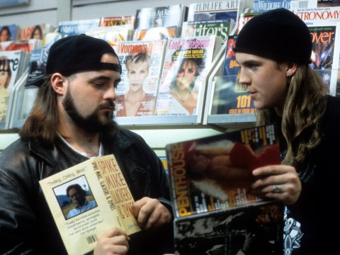 Jay of Jay And Silent Bob will never show his daughter his Kevin Smith films