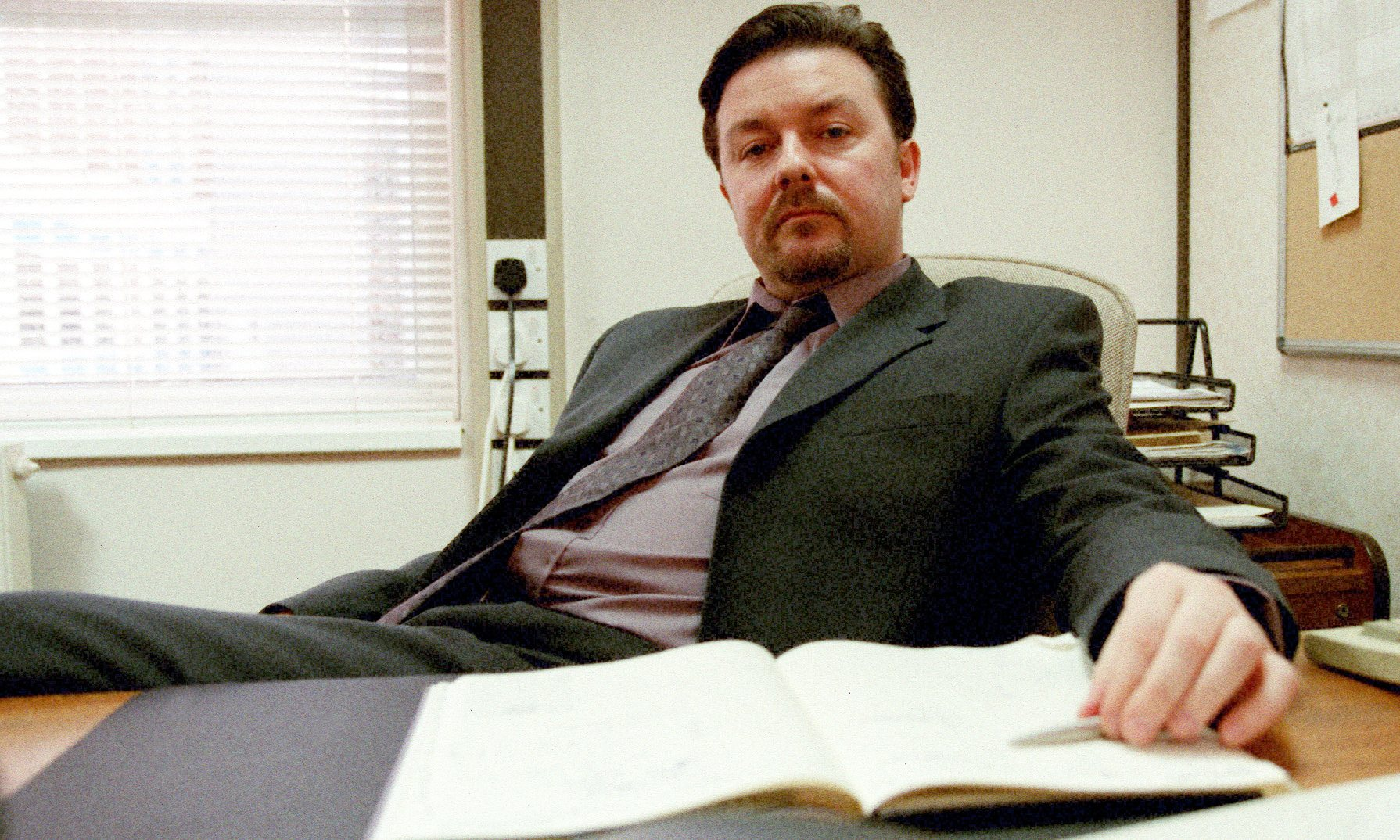 David Brent and The Office didn't do much for the area (Picture: BBC)