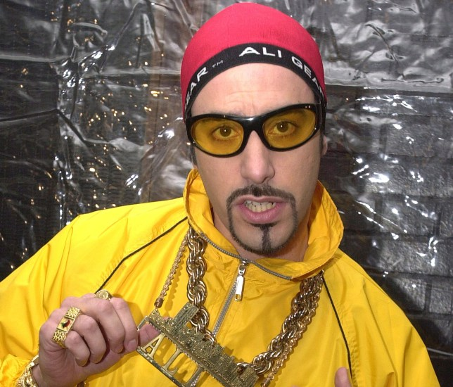 Ali G: Sacha Baron Cohen says he was once threatened by Shaggy's manager (Picture: Keith Bedford/Getty Images)