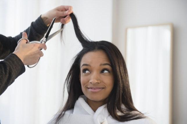 Getting A Haircut 4