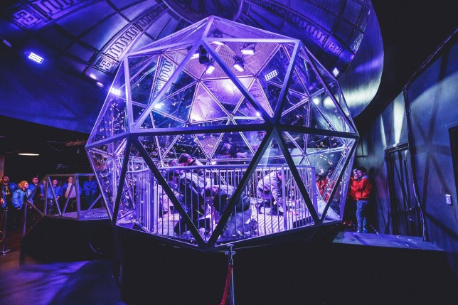 (Picture: The Crystal Maze)