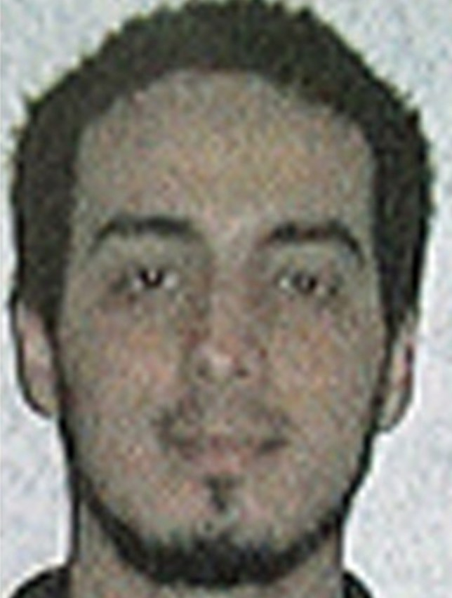 """Najim Laachraoui TOPSHOT - A picture released on March 22, 2016 by the belgian federal police on demand of the Federal prosecutor shows a screengrab of the airport CCTV camera showing suspects of this morning's attacks at Brussels Airport, in Zaventem. nTwo explosions in the departure hall of Brussels Airport this morning took the lives of 14 people, 81 got injured. Government sources speak of a terrorist attack. The terrorist threat level has been heightened to four across the country. / AFP PHOTO / BELGIAN FEDERAL POLICE / - / RESTRICTED TO EDITORIAL USE - MANDATORY CREDIT """"AFP PHOTO / BELGIAN FEDERAL POLICE"""" - NO MARKETING NO ADVERTISING CAMPAIGNS - DISTRIBUTED AS A SERVICE TO CLIENTSn-/AFP/Getty Images"""