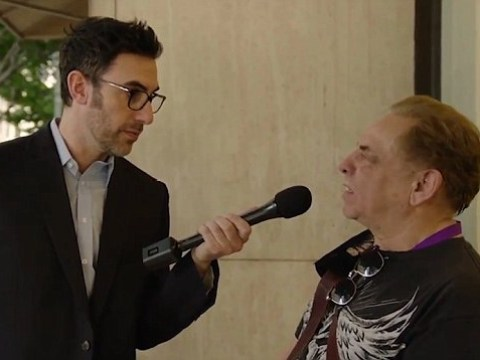 Sacha Baron Cohen interviews people about what they think of Sacha Baron Cohen – and they're not impressed