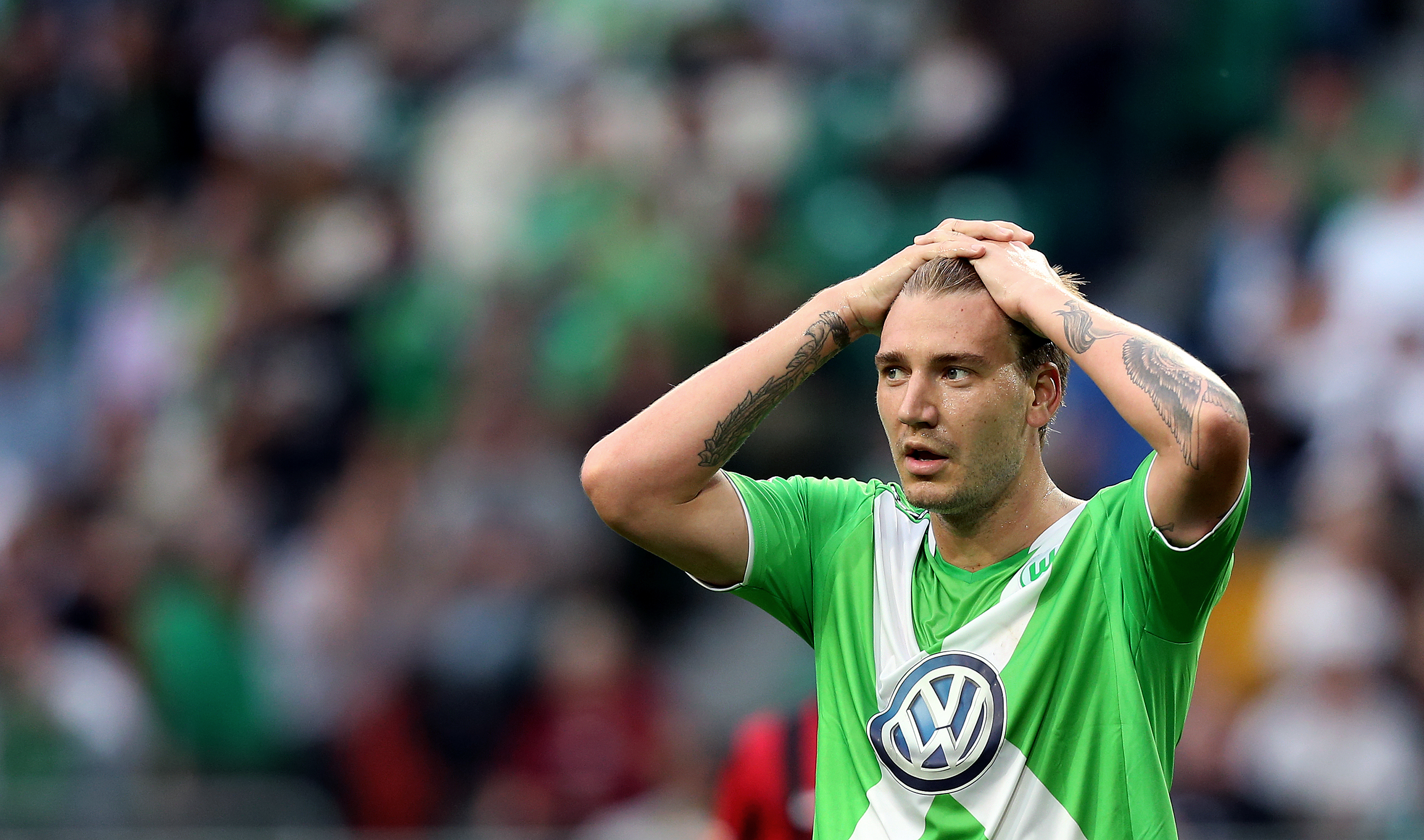 Wolfsburg trying to terminate Nicklas Bendtner's contract with immediate effect