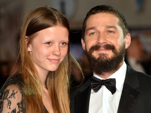 Shia LaBeouf and Mia Goth 'brag about engagement at the supermarket'