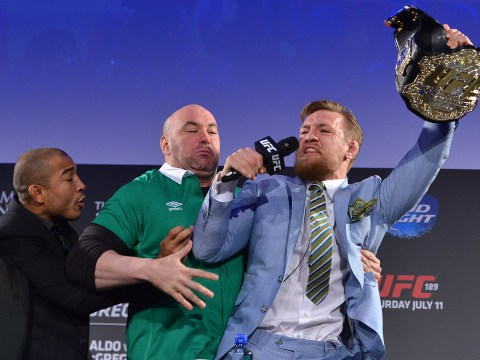 Conor McGregor calls Jose Aldo a 'loser' after rival mocks him for UFC 196 defeat to Nate Diaz