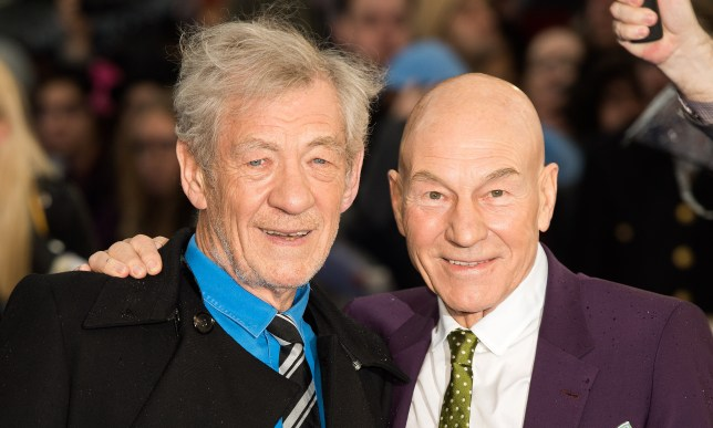 On tour: Sir Patrick Stewart and Sir Ian McKellen are coming to a theater near you (Picture: Samir Hussein/Getty Images)