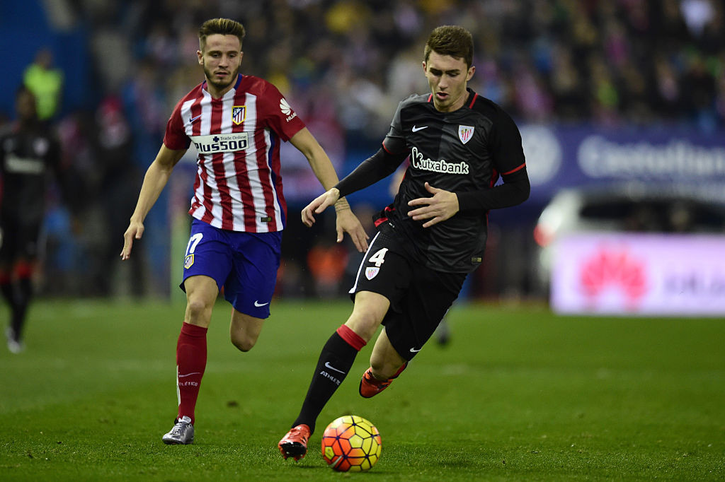 Manchester United and Manchester City willing to pay Aymeric Laporte's £40million buy-out clause