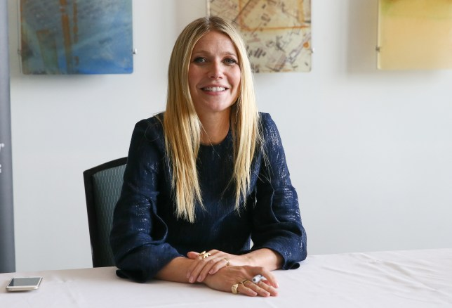 Sex for breakfast: Gwyneth Paltrow has recommended her favourite morning smoothie (Picture: Terry Wyatt/Getty Images)