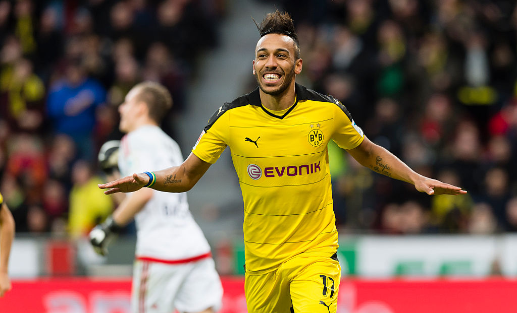 Dortmund will listen to £95m offers for Pierre-Emerick Aubameyang, says club's sporting director
