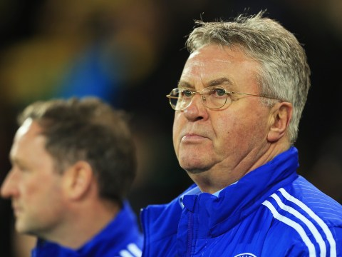 Guus Hiddink can cement his name in Chelsea's history with victory over Paris Saint-Germain