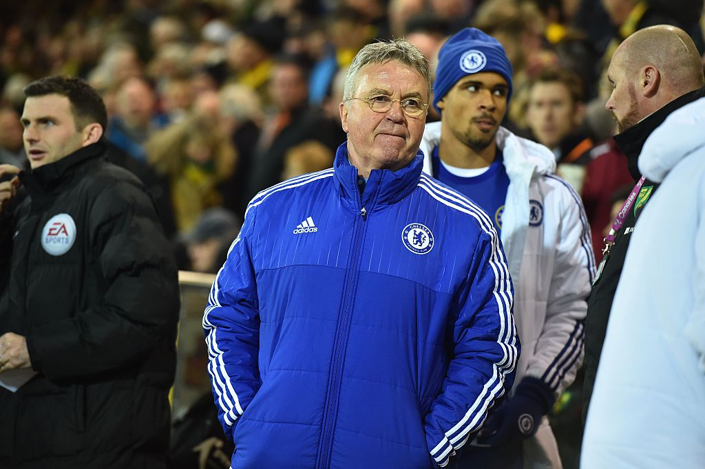 Guus Hiddink says Chelsea are now challenging for Europe