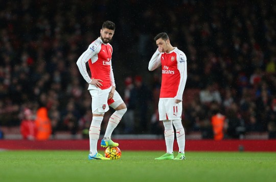Arsenal look to have bllown the title (Picture: Getty Images)