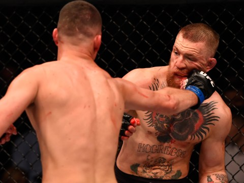 Conor McGregor LOSES to Nate Diaz in huge shock at UFC 196