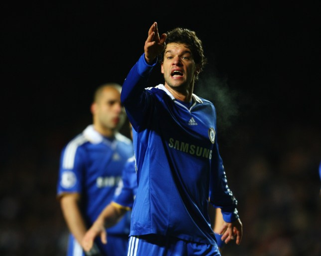 LONDON - DECEMBER 09: Michael Ballack of Chelsea during the UEFA Champions League match between Chelsea and CFR 1907 Cluj-Napoca at Stamford Bridge on December 9, 2008 in London, England. (Photo by Jamie McDonald/Getty Images)