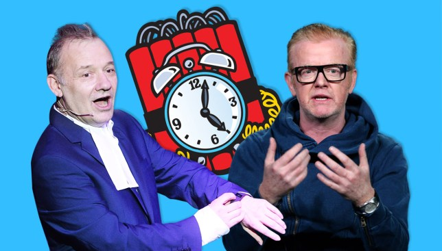 Bob Mortimer: Chris Evans on Top Gear is a ticking time bomb Credit: Getty Images/REX/Metro