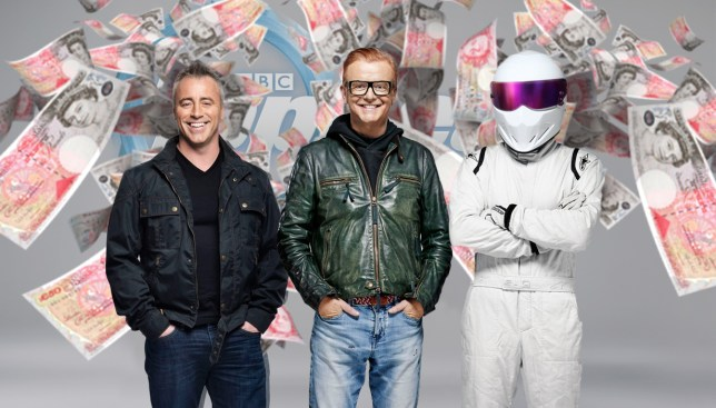 Top Gear blew £100K on Cenotaph scene (Picture: BBC/PA/Metro)