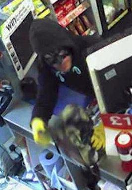 'Batman' turns villain in terrifying robbery attempt on newsagents