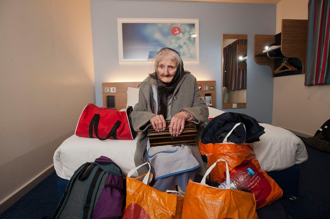 May Appleton was kicked out of her home of 61 years (Picture: Andrew Price/View Finder Pictures)