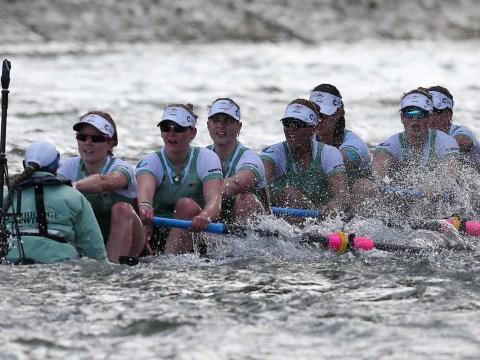 Boat Race 2016: Cambridge almost sinks as Oxford win women's race