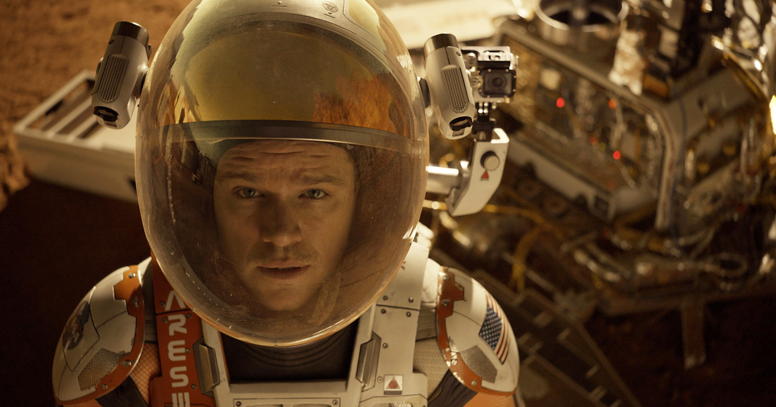Matt Damon's The Martian nearly had a different ending – and you can watch it here