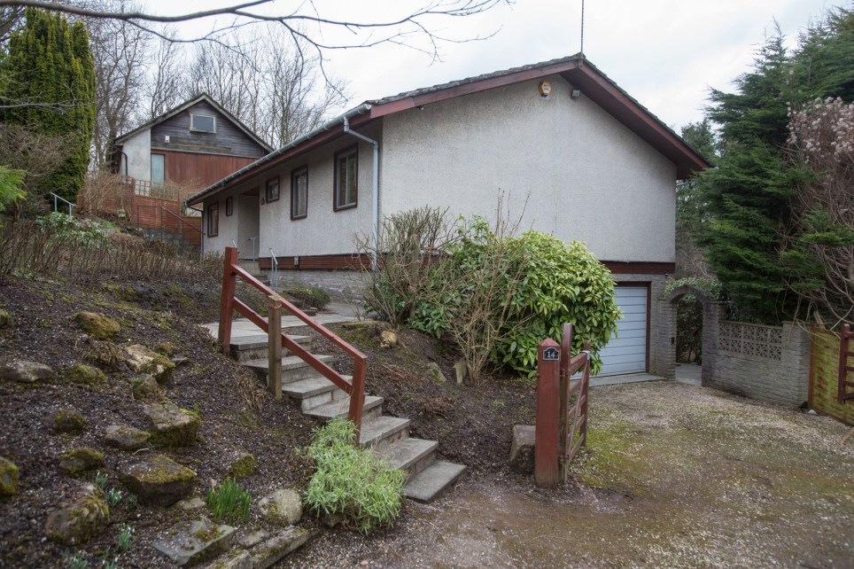A time-warp house which has been untouched since the 1970s has gone up for sale at offers over £275,000. See SWNS story SWWARP. The property features its own sauna and balcony, four bedrooms and interior dÈcor that was all the rage when Starsky and Hutch dominated television screens and disco fever ruled the airwaves. At the time it was built, houses in Scotland cost on average around £11,500. On the outside, the detached Scandinavian-style building looks like a traditional bungalow but inside it is like stepping back in time. The home boasts lime-green and white kitchen cabinets, vibrantly patterned tiles and carpets and a wood-panelled ceiling in the living room. Both bathrooms are decorated with green and yellow patterned tiles and feature a green toilet and bath. Estate Agents Rettie said the home was constructed to the then owner's specifications and sits on its own plot of land in the Glasgow suburb of Bearsden. And since listing the home they have been swamped by calls from interested buyers, with around 105 property views scheduled during just one week.