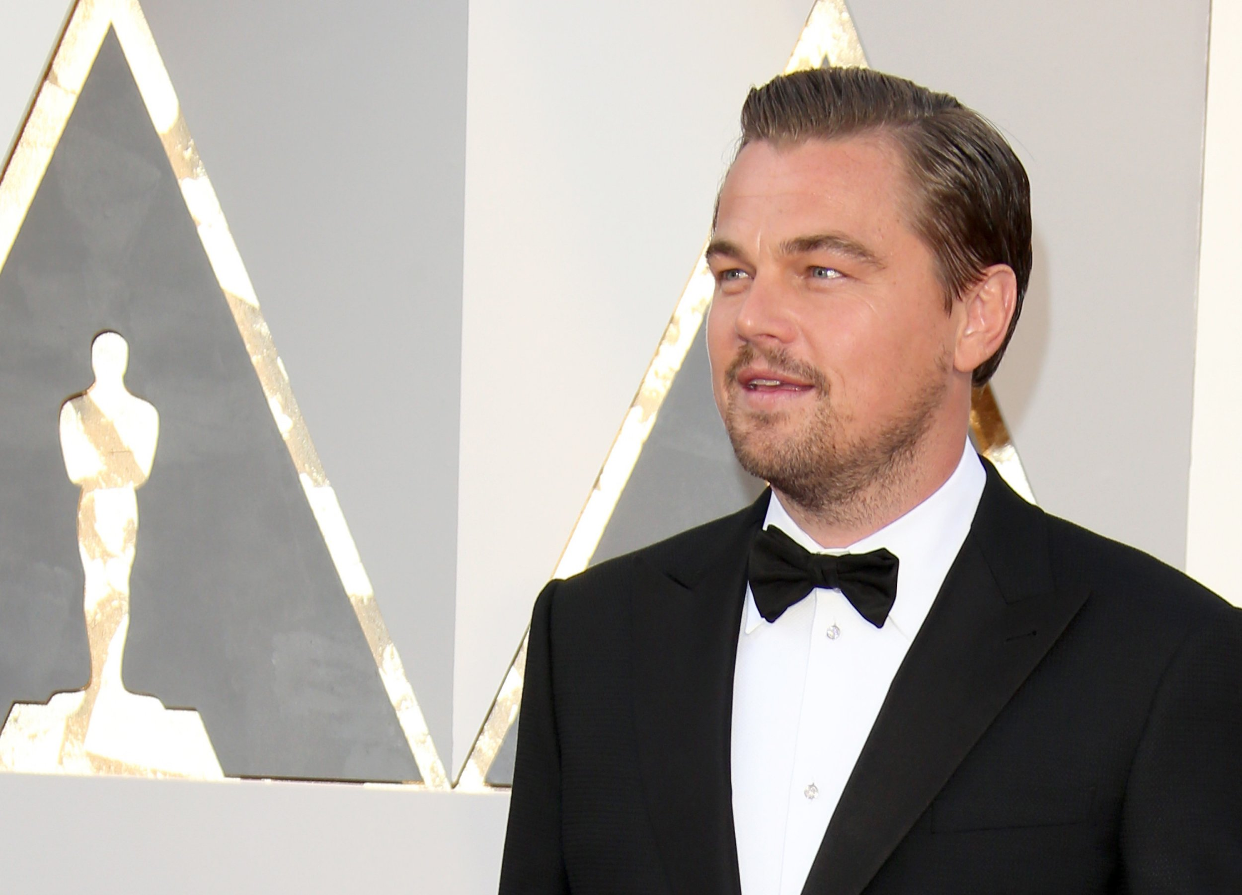 HOLLYWOOD, CA - FEBRUARY 28: Actor Leonardo DiCaprio attends the 88th Annual Academy Awards at Hollywood & Highland Center on February 28, 2016 in Hollywood, California. (Photo by Dan MacMedan/WireImage)