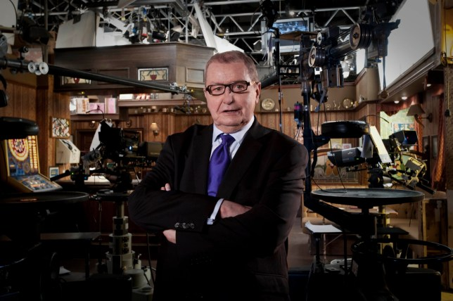 Undated handout photo issued by ITV of Coronation Street creator and writer Tony Warren on set. Warren has died, the show's Twitter account said. PRESS ASSOCIATION Photo. Issue date: Wednesday March 2, 2016. See PA story DEATH Warren. Photo credit should read: ITV/PA Wire NOTE TO EDITORS: This handout photo may only be used in for editorial reporting purposes for the contemporaneous illustration of events, things or the people in the image or facts mentioned in the caption. Reuse of the picture may require further permission from the copyright holder.