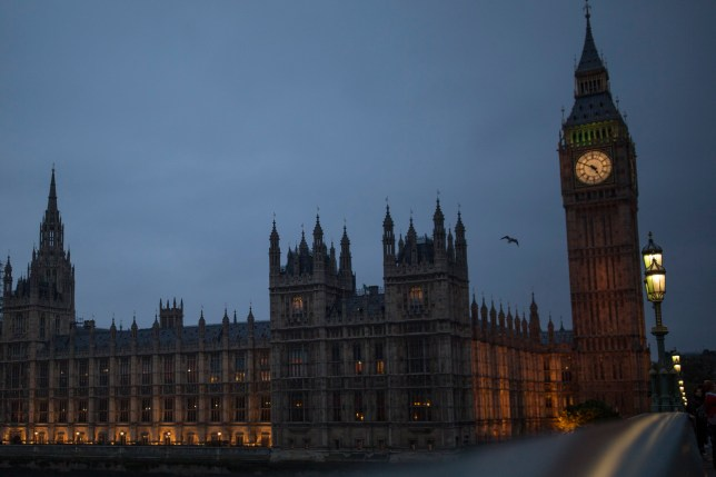 LONDON, ENGLAND - OCTOBER 26: A general view of the Houses of Parliament on October 26, 2015 in London, England. The House of Lords will vote today on a motion that could delay the government's plans to reduce tax credits paid to low income people. (Photo by Dan Kitwood/Getty Images)