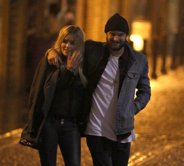 Mandatory Credit: Photo by Beretta/Sims/REX/Shutterstock (5224486e)nLaura Whitmore and Rory WilliamsnLaura Whitmore and Rory Williams out and about, London, Britain - 05 Oct 2015nThe couple were spotted dining out at Le Pont de la Tour french restaurant near Tower Bridge.n
