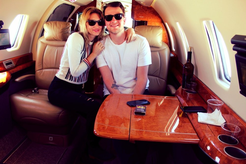 This couple flew for free on a private jet – and you could do the same
