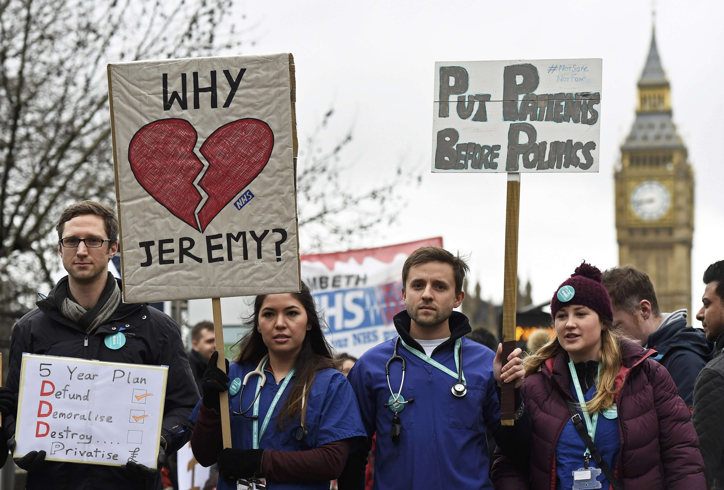 Another junior doctor strike is underway – here's everything you need to know
