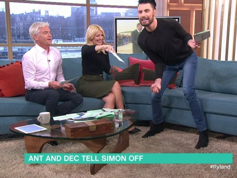 Rylan Clark-Neal got 'attacked' by a moth live on This Morning and had a complete meltdown
