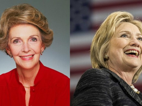 Hillary Clinton basically just invented a story about Nancy Reagan