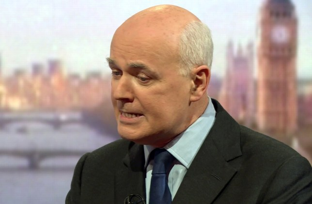 pic shows: BBC Andrew MarrnImpassioned Iain Duncan Smith pleads his case.nnnPicture by Pixel8000 07917221968