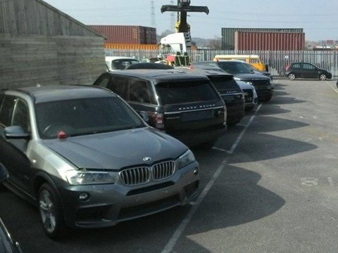 Police find loads of stolen British cars… in Uganda
