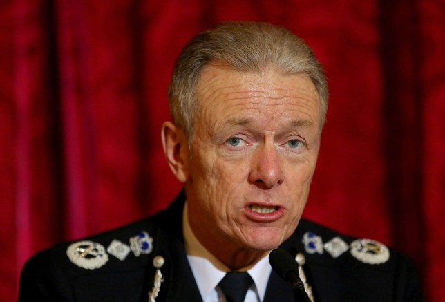 """File photo dated 06/12/14 of Metropolitan Police Commissioner Sir Bernard Hogan-Howe, who has said that banks should not refund victims of online fraud because it """"rewards"""" them for being lax about internet security. PRESS ASSOCIATION Photo. Issue date: Thursday March 24, 2016. Sir Bernard said customers were being """"rewarded for bad behaviour"""" instead of incentivised to update anti-virus software and improve passwords. See PA story POLICE Cybercrime. Photo credit should read: Gareth Fuller/PA Wire"""