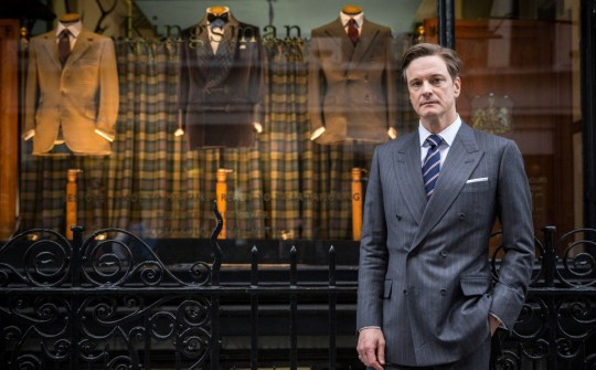 No Merchandising. Editorial Use Only. No Book Cover UsagenMandatory Credit: Photo by Moviestore/REX/Shutterstock (4076881g)nColin Firthn'Kingsman: The Secret Service' Film - 2015nn