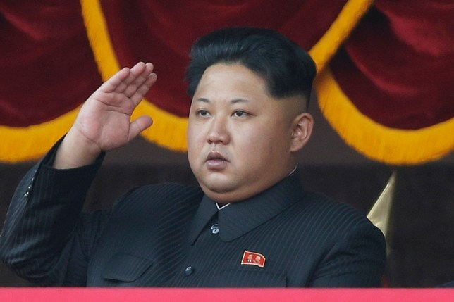FILE - In this Oct. 10, 2015, file photo, North Korean leader Kim Jong Un salutes at a parade in Pyongyang, North Korea. President Barack Obama will be meeting with Asian leaders in Washington this week as fears grow that long-smoldering tensions on the Korean Peninsula and in the South China Sea risk flaring into conflict. But other pressing security issues will be up for discussion on the sidelines of the two-day gathering that starts Thursday, March 31, 2016. (AP Photo/Wong Maye-E, File)