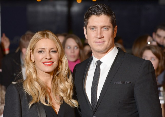 File photo dated 22/1/2014 of Tess Daly and Vernon Kay, Photo credit should read: Dominic Lipinski/PA Wire