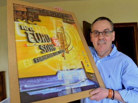 Meet the Eurovision superfan who's been to every single contest since 1988…