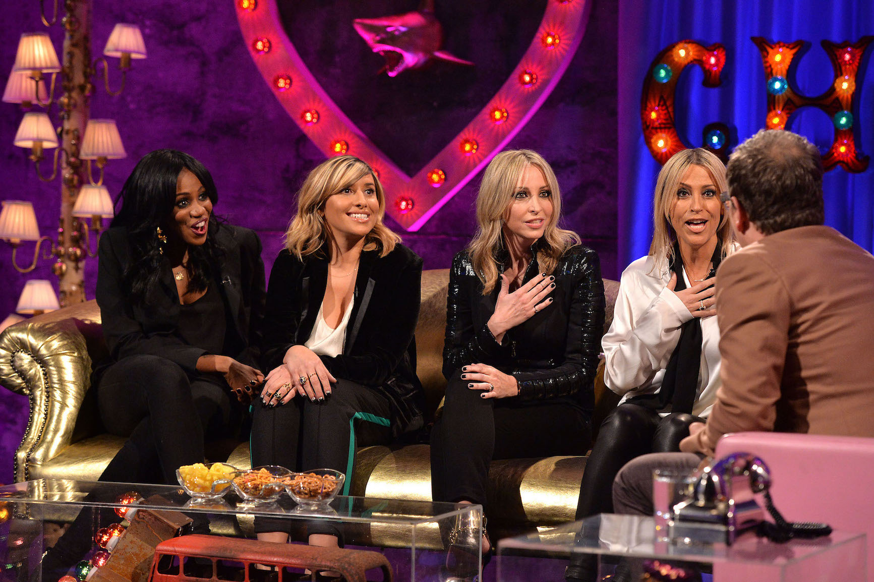 All Saints on Alan Carr: Chatty Man (Picture: Mark Allan/Channel4)