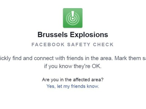 Brussels attacks: Facebook activates safety check following explosions in Belgian capital