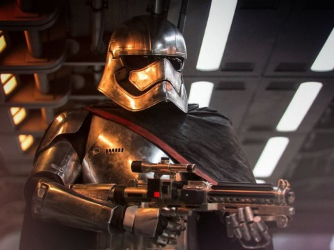 The Last Jedi – will we see Captain Phasma unmasked?