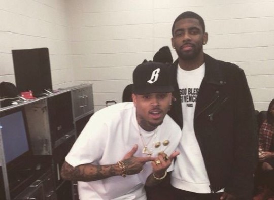 Kyrie Irving blasts Chris Brown for shocking Kehlani tweets