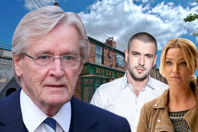 Bill Roache does not like known celebrities joining Coronation Street Getty / ITV