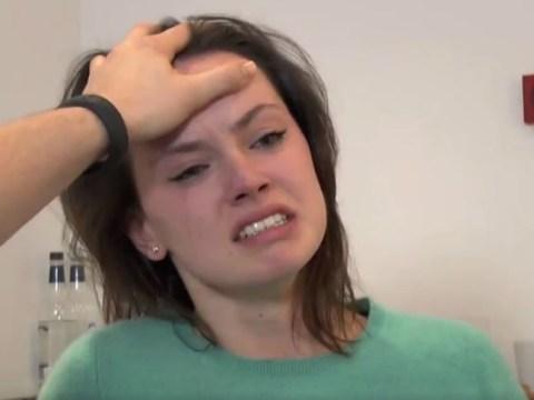WATCH: Daisy Ridley's Star Wars audition is pretty impressive